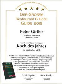 Magazine sterzing koch des jahres 2016 for Koch des jahres 2016